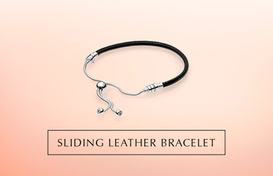 Moments Leather Bracelet